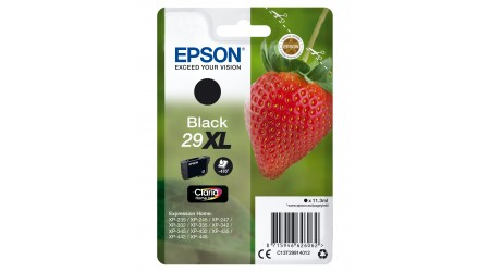 CARTUCHO EPSON NEGRO C13T29914012 PARA EXPRESSION HOME XP-235/245/247  1100 PAG