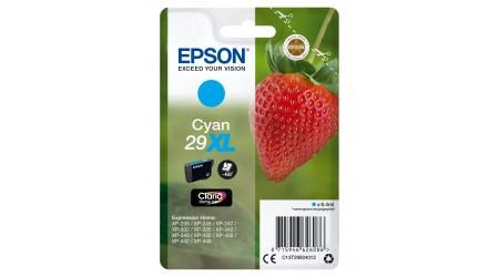 CARTUCHO EPSON CYAN C13T29924012 PARA EXPRESSION HOME XP-235/245/247/255 450 PAG.