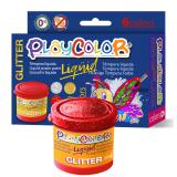 TEMPERA ESCOLAR PLAYCOLOR LIQUID GLITTER 6 UDS. 40ML. COLORES SURTIDOS CON PURPURINA