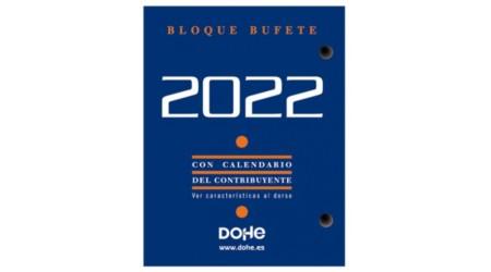 TACO CALENDARIO 2022  8,5x11 CM BLOCK BUFETE DOHE FSC