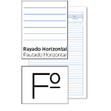 BLOC EXAMENES FOLIO 40 H 1 RAYA - HORIZONTAL 5340