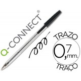 BOLIGRAFO Q-CONNECT TRANSPARENTE MEDIO KF-26039