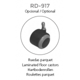 RUEDAS PARQUET PARA SILLA ROCADA RD908