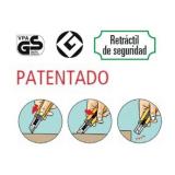 CUTTER ANCHO OLFA SK-4 CORTADOR DE SEGURIDAD RETRACTIL (REPUESTO 3OL02CUE009 SKB-2/5B)