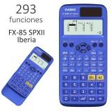 CALCULADORA CIENTIFICA CASIO FX-85SPXII  292 FUNCIONES 10+2 DIGITOS